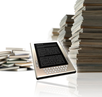 ebook and book image