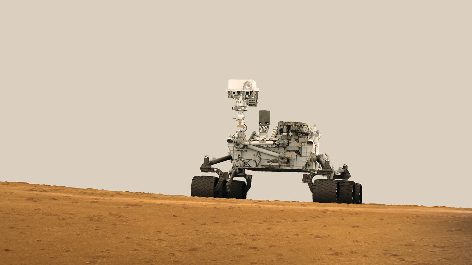 Curiosity Puts Morse Code In Sand As It Makes Its First ...