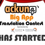 Ackuna translation contest